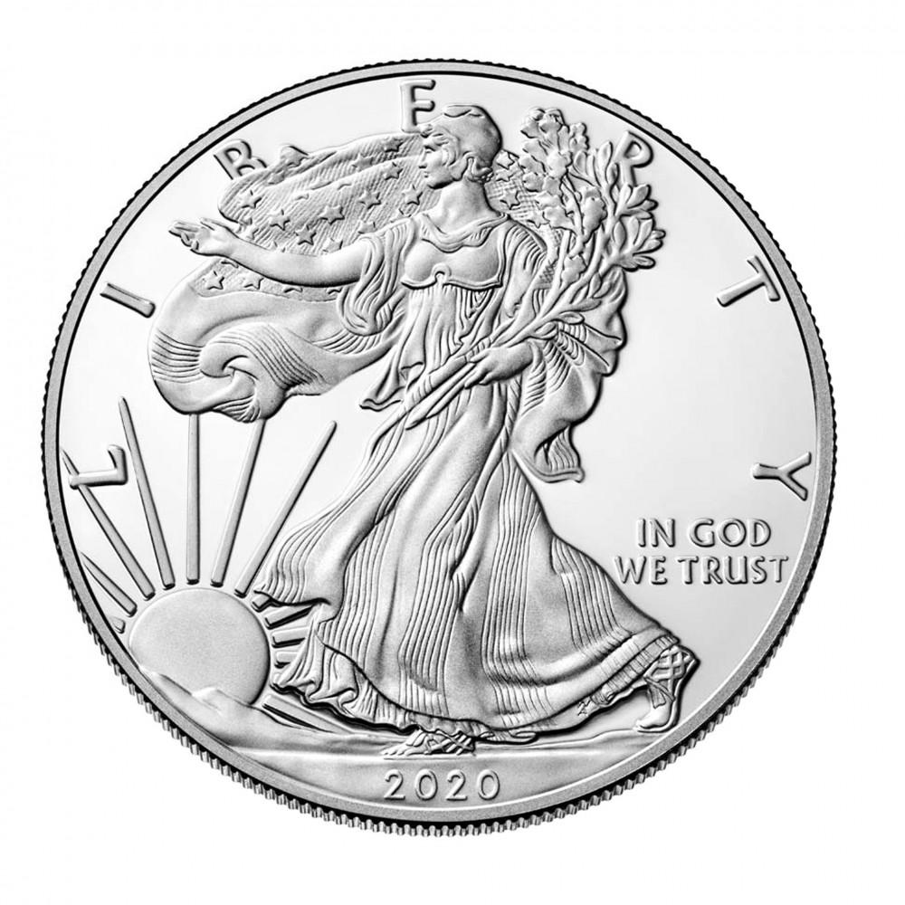 Vulturul american 1 oz - 1 dolar, moneda de argint