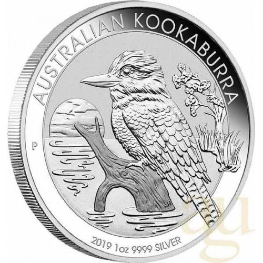 1 dolar Australia 1oz Kookaburra - moneda de argint an 2019