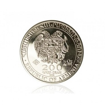Arca lui Noe 1/2 oz - moneda de argint