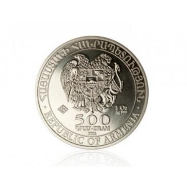 Arca lui Noe 1 oz - moneda de argint