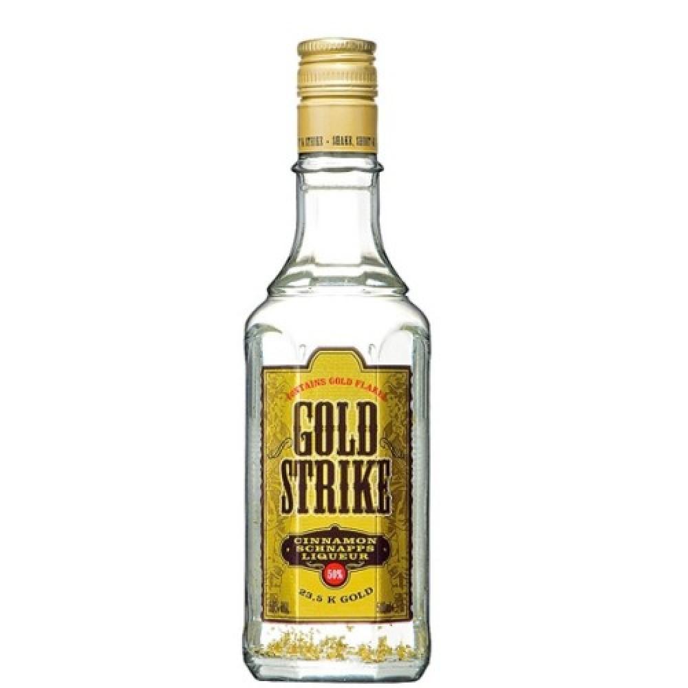 Lichior cu foite de aur 23,5 k, 50⁰ - Bols Gold Strike 0,5 L - LACRIMILE MIRESEI