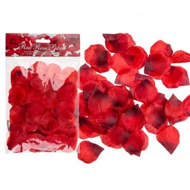 Petale de trandafir rosu