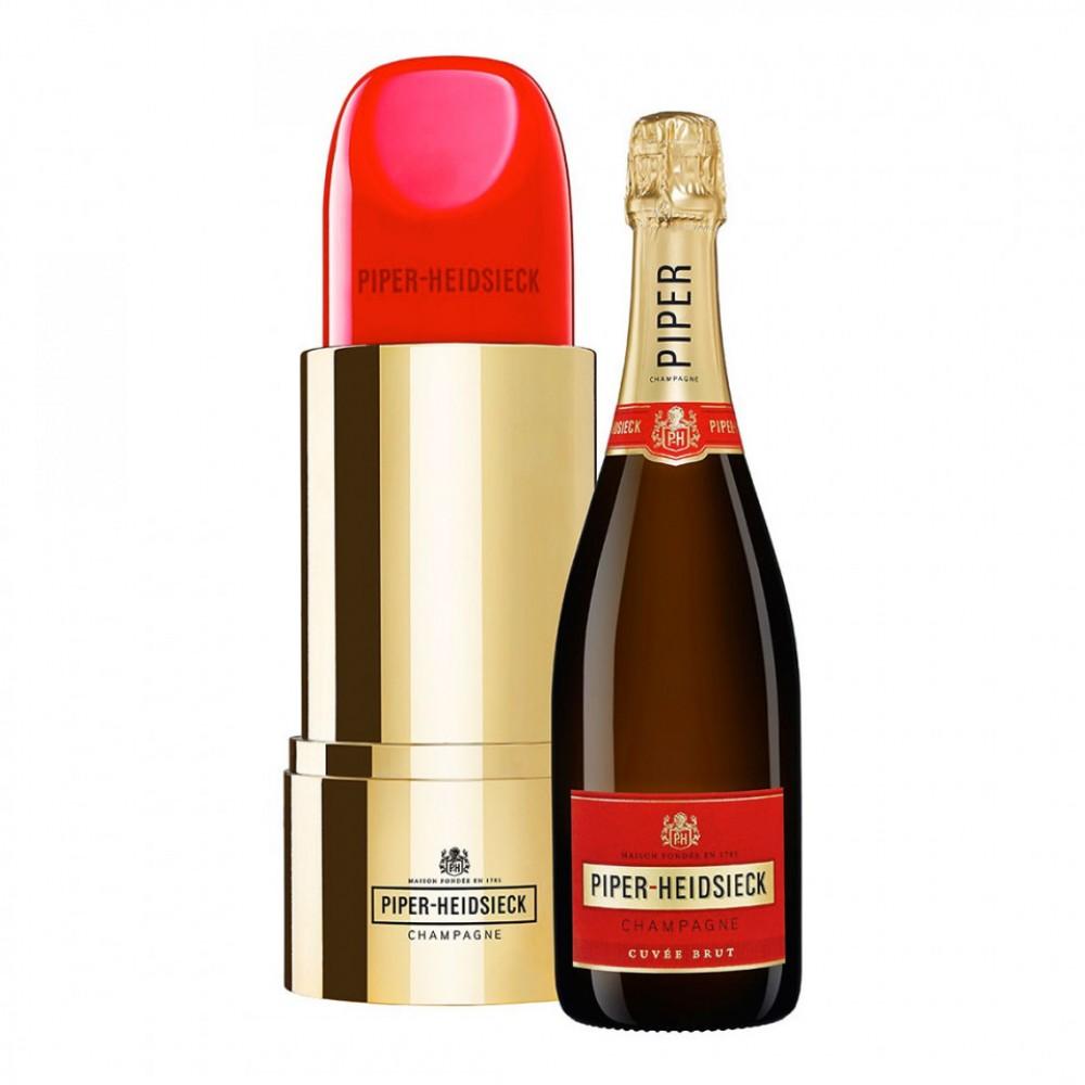Champagne Piper - Heidsiek +cutie sub forma de ruj