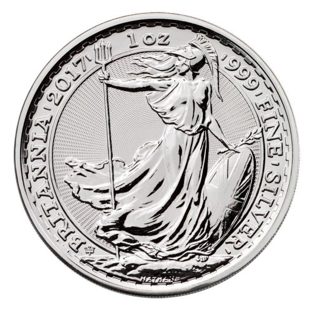 Britannia 1 oz - moneda de argint